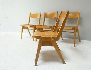 1950's mid century Dining Chairs by Casala / 7 available