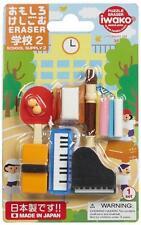 Iwako Japanese Erasers Piano Set S-3880