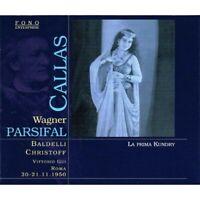 Wagner-Parsifal:V.Gui,Orch.RAI Roma,Callas,Panerai,Baldelli,Christoff,Lopatto