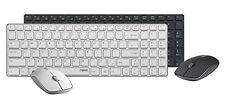 Rapoo 9300P Wireless Ultra Thin Keyboard and Mouse Combo Set