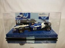 MINICHAMPS WILLIAMS F1 BMW FW24 2002 - MONTOYA 1:43 - EXCELLENT IN SHOW-CASE