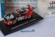EBBRO 182 PORSCHE 911 GT3R JMC TAISAN #73 LE MANS 2000 1/43