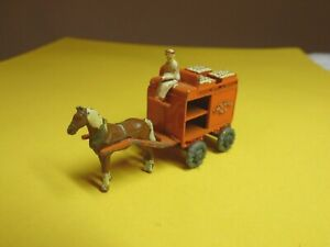 No. 7 - 1954 Lesney Matchbox – Horse Drawn Milk Cart – 1-75 Regular Wheels - GC