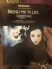 2002 Evanescence Bring Me To Life sheet music