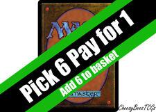Magic the Gathering - MTG - Green Cards x1 (H-R)(M19 & Various Sets)