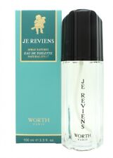 WORTH JE REVIENS EAU DE TOILETTE EDT 100ML SPRAY - WOMEN'S FOR HER. NEW