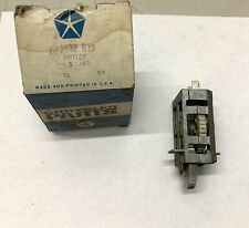 1968-70 B-Body NOS Headlight Dimmer Switch 2947174 69 Date Coded Charger GTX