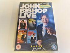 John Bishop Live - Box of Laughs - DVD  Box Set New & Sealed
