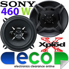 "BMW 3 Series E46 1998-06 SONY 13cm 5.25"" 460 Watts 2 Way Front Door Car Speakers"