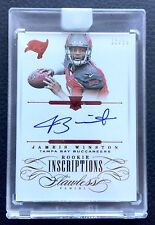 #/15 Jameis Winston 2015 Flawless Rookie Inscriptions Ruby Red Auto RC Encased