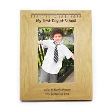 PERSONALISED STARTING MY FIRST 1st DAY AT SCHOOL GIFT IDEA KEEPSAKE PHOTO FRAME