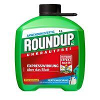 Roundup AC 5L Unkrautbekämpfung Unkraut Unkräuter Glyphosat-frei Löwenzahn
