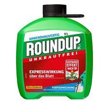 Roundup AC-5L-Unkrautbekämpfung Unkraut Unkräuter Glyphosat-frei Löwenzahn