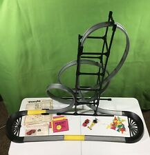 Vintage Darda Demon Rollercoaster Roadway 2 Cars W. Germany