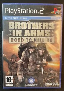 Brothers In Arms Road To Hill 30 Ps2 Game New Sealed U.K. Pal. Playstation 2