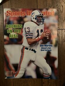 1983 Sports Illustrated Dan Marino Dolphins No Label