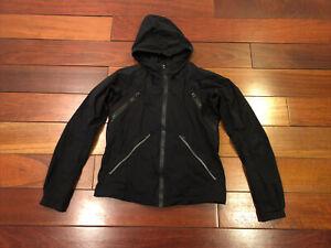 Lululemon Black Nylon Hooded Jacket Size 4