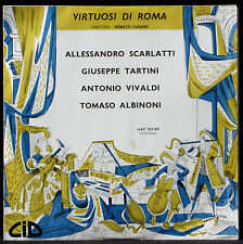 Virtuosi di Roma Fasano Scarlatti Tartini Vivaldi Albinoni LP & CV EX+