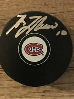Guy LAFLEUR Autographed/Signed Montreal CANADIENS Puck RARE!