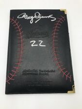 Houston Astro Check Holder/Credit Card Folder/ Bill Signed By Roger Clemens