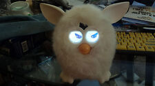 Hasbro Interactive Electronic Furby's Boom Solid White Yeti Snowman  WORKS!
