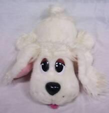 Pound Puppies WHITE BARKING PUPPY DOG POODLE Plush STUFFED ANIMAL Mattel 2004