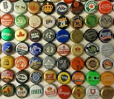 54 different BEER BOTTLE CAPS -  for your bar top or table project LOT N1