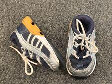 Nike Shox Boys Tennis Shoes Size 4C Infant Baby Blue Yellow