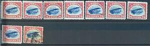 "Scott No. C3 US Postage U.S. Airmail Uncancelled  -Hinged 24 cent ""Jenny"""