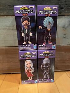 Banpresto My Hero Academia WCF World Collectable Figure Vol.6 Lot of 4 Eri Twice