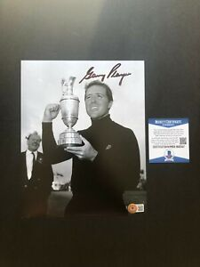 Gary Player classic signed autographed Open Masters 8x10 photo Beckett BAS coa