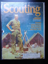 Scouting Magazine Sept 1978 Norman Rockwell Interpreter Weather Wise Jogging