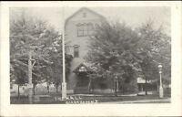 Gibbsboro NJ The Hall c1910 Postcard