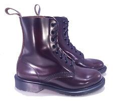 Dr. Martens Doc England MIE Merlot Boanil Brush Pascal Boots UK 3 US 5