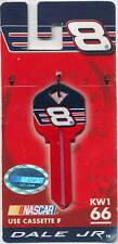 NASCAR #8 DALE EARNHARDT JR BLANK KEY KW1 66