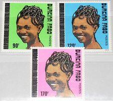BURKINA FASO 1989 1219-21 884-86 Haartrachten Frisuren Hair Cuts BF ovp ÜD MNH