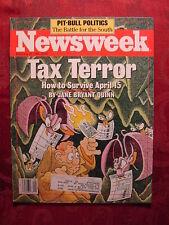NEWSWEEK February 29 1988 TAX REFORM LINDA RONSTADT +++