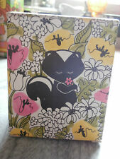 Vtg Avon Sniffy Skunk Topaze Cologne 1970s Black Glass Skunk Bottle Iob