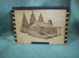 """Laser Cut Engraved Box  4""""x6"""", wedding box, trinket"""
