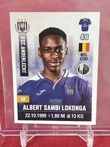 Albert Sambi Lokonga Anderlecht Arsenal Pro League 2019/20 Panini Rookie Sticker