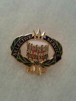 Authentic US Army Selective Service DUI DI Crest Insignia