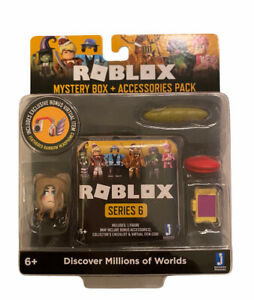 Roblox Celebrity Series 6 Sakura High Emi Accessory set w/Mystery Box and Codes