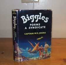 Biggles Forms a Syndicate.  W. E. Johns. 1961. 1st Ed.