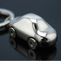 Cute Mini Metal Car Key Ring Chain 3D Keyfob Keychain Keyring Gift