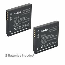 2x Kastar Battery for Panasonic Lumix DMW-BCK7 DMC-FH2 DMC-FH4 DMC-FH5 DMC-FH6