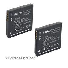 2x Kastar Battery for Panasonic Lumix DMW-BCK7 DMC-FH7 DMC-FH8 DMC-FH25 DMC-FH27