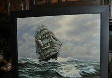 Fantastic Tall Ship Seascape Painting
