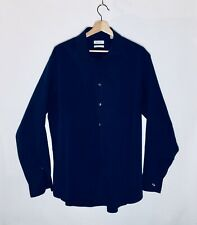 Calvin Klein Long Sleeve Button Front Men's Dress Shirt Size X-Large