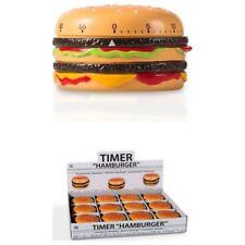 Temporizador de Cocina con forma de Hamburguesa (Programable hasta 55 minutos)