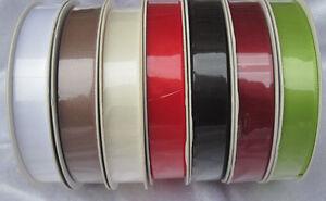 4 m Satinband 0,43/m Schleifenband 16 mm Breite Doppelsatin Dekoband Hochzeit
